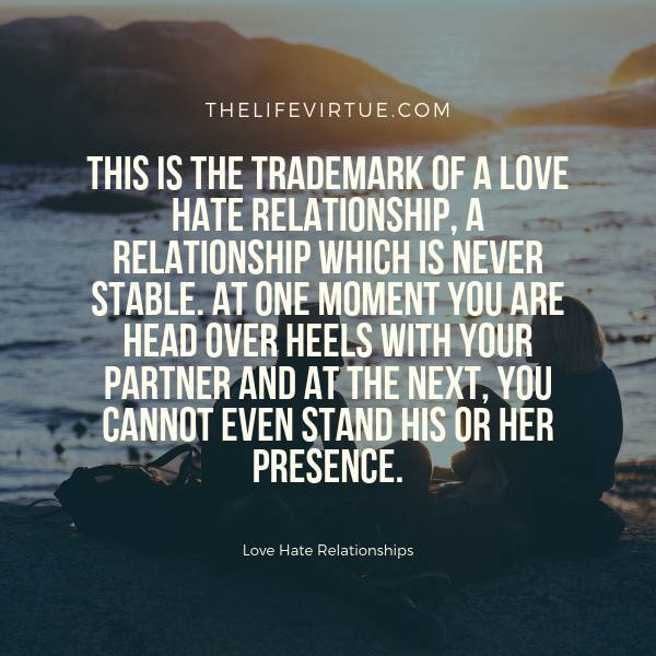 Red Flags of Love Hate Relationships