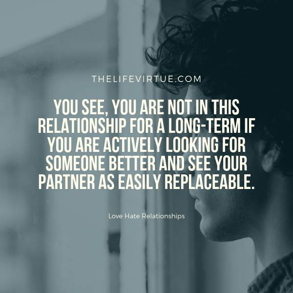 Actively Look Escape from Toxic Relationships
