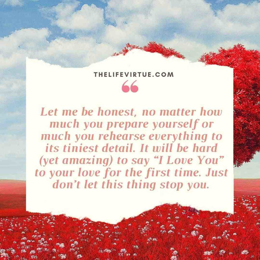 Tips on How to Tell Someone You Love Them