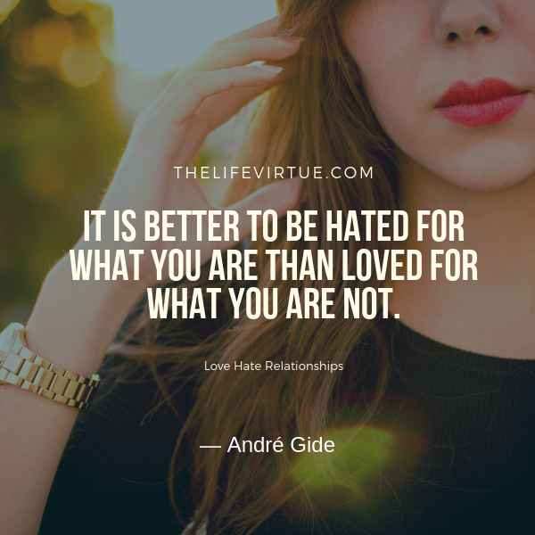 Quotes on Love Hate Relationship