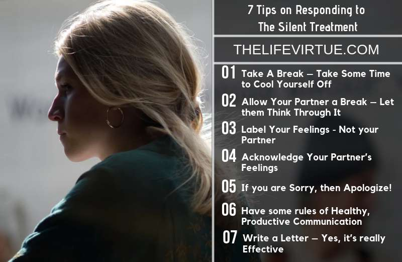 Seven Tips on Responding to the Silent Treatment