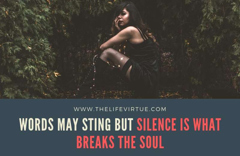 Silent Treatment Quotes