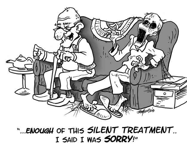 Silent Treatment Jokes