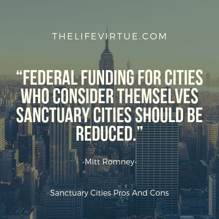 Sanctuary cities protect illegal immigrants