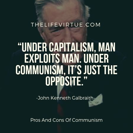 Capitalism promotes inequality and poverty.