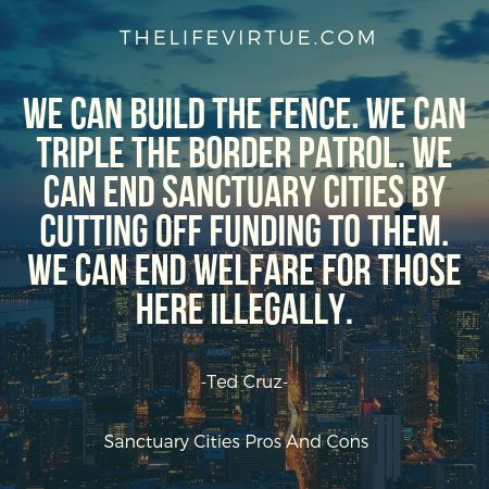 Sanctuary cities should not federally funded
