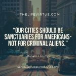 Among the sanctuary cities pros and cons, creating a dangerous environment is a con