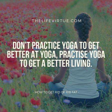 yoga for rib fat