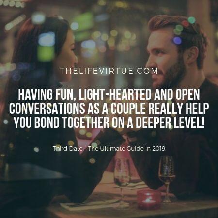 Third Date Conversations in 2019