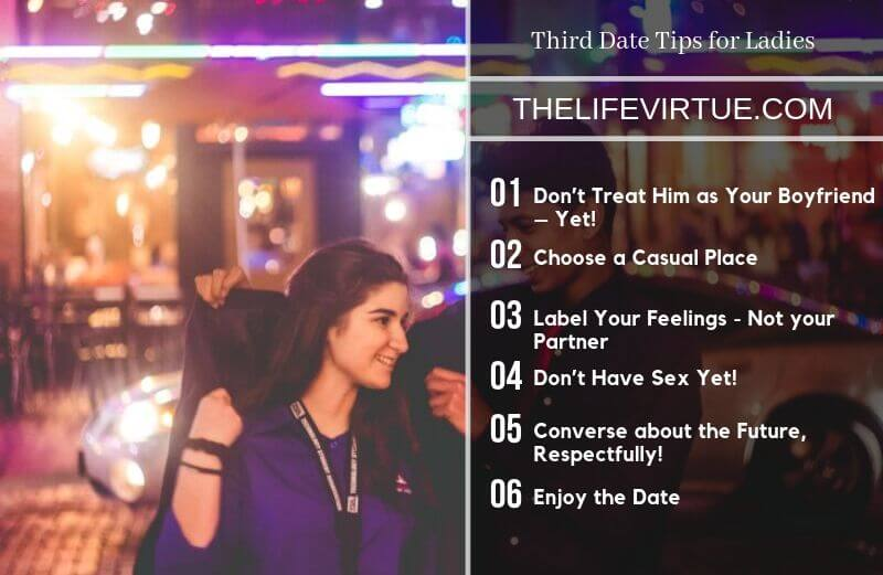 Third Date Tips for Ladies