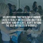 Volunteering on your Third Date
