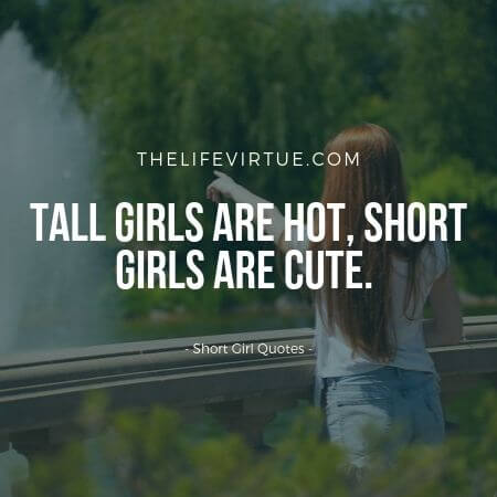 Short Height Quotes