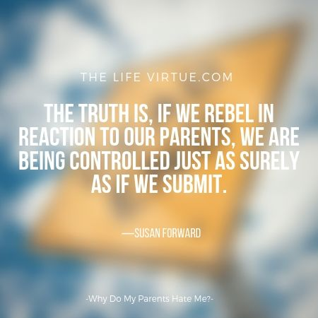 The truth is, the more we react, the more we are controlled.