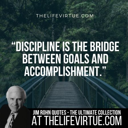 Jim Rohn Quotes and Sayings on Disicpline