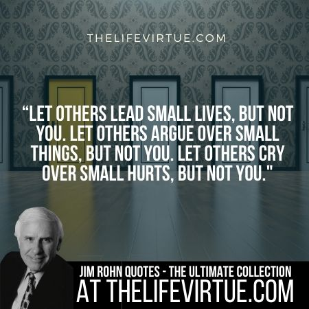 Jim Rohn Quotes and Sayings on Standing Out
