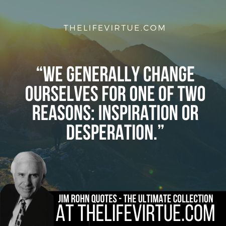 Jim Rohn Quotes on Change