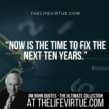 Jim Rohn Quotes on Future