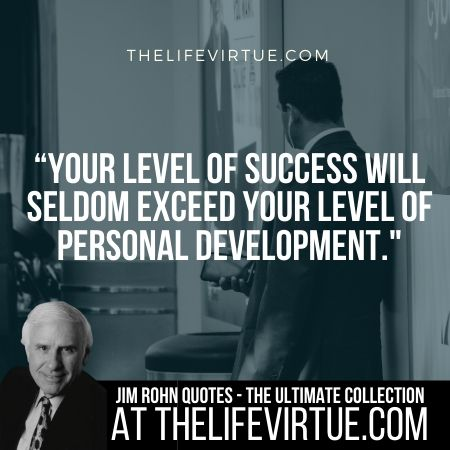 Jim Rohn Quotes on Level of Success