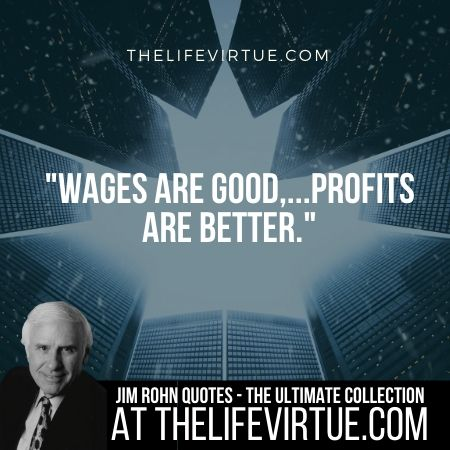 Jim Rohn Quotes on Profits