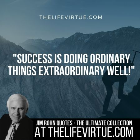 Jim Rohn Quotes on Success