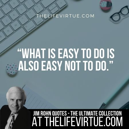 Quotes & Sayings of Jim Rohn in 2019