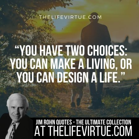 Quotes of Jim Rohn on Choices