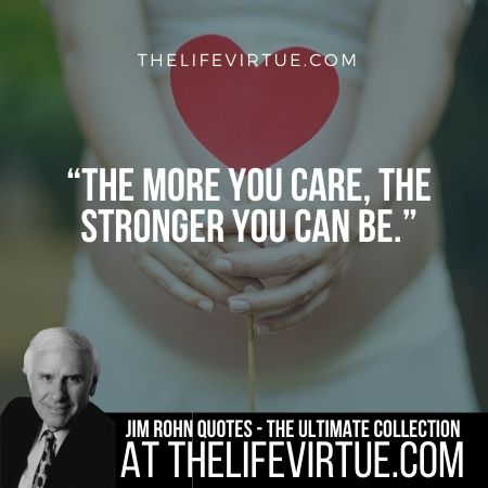 Sayings of Jim Rohn on Caring