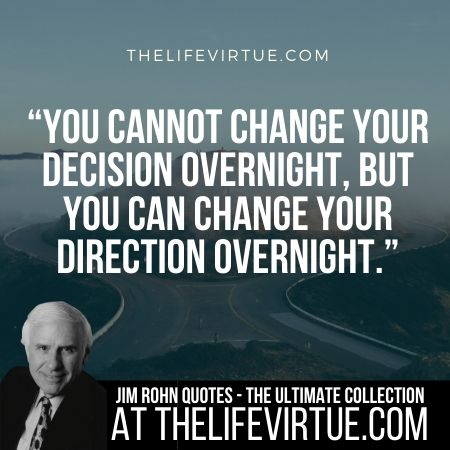 Sayings of Jim Rohn on Change