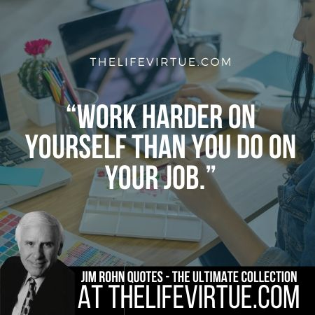 Sayings of Jim Rohn on Job