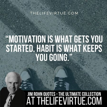 Sayings of Jim Rohn on Motivation