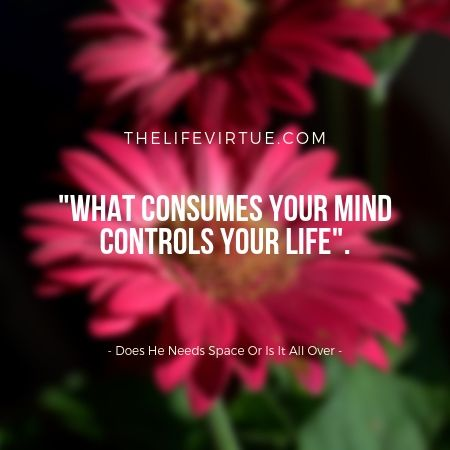 Do Not Let Negativity Consume Your Mind