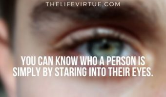 You can tell a lot about a person by analyzing the way they stare you- When a guy stares at you intensely