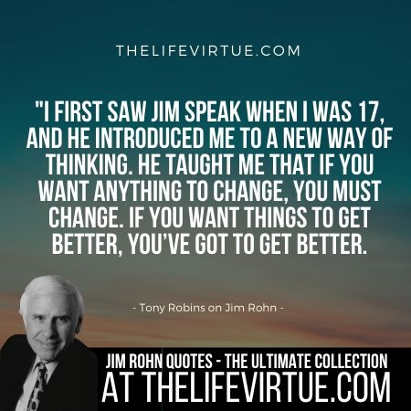 Tony Robbins About Jim Rohn