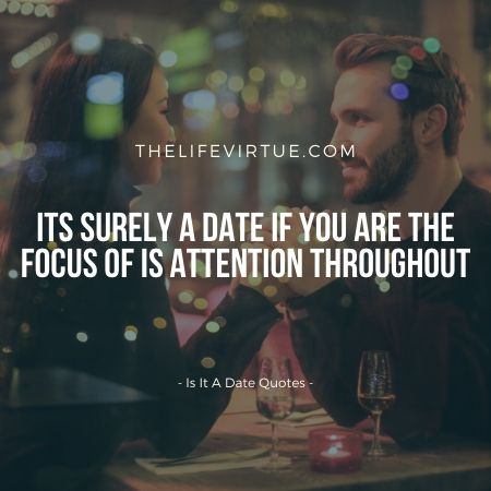 Is it a date or a non-date