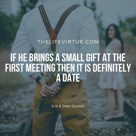 Is it a date like meeting?