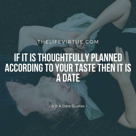 Is it a romantic meet up?