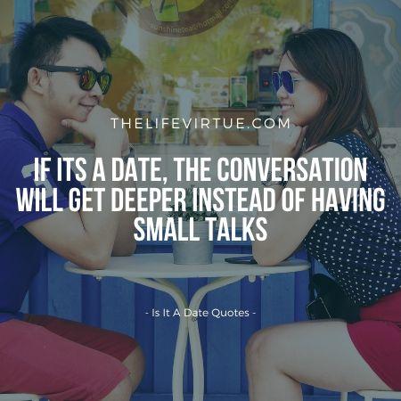 Is it a romantic rendezvous?