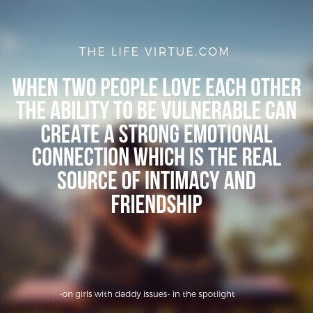 strong emotional bonds