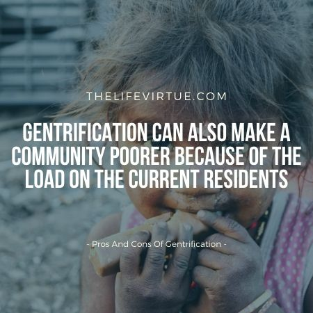 pros and cons of gentrification
