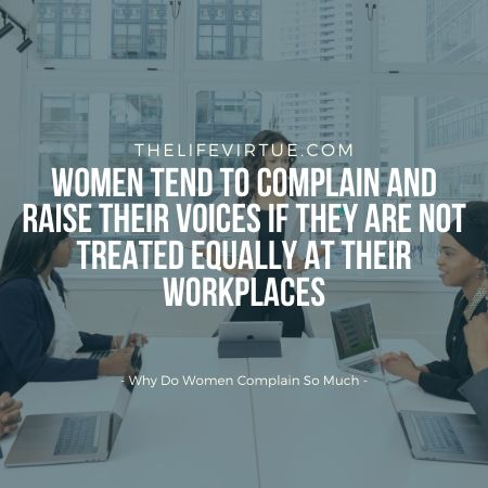 Inequality at workplace pisses off women
