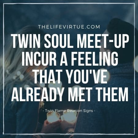 twin flame reunion signs
