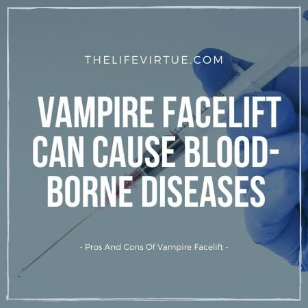 pros and cons of vampire facelift