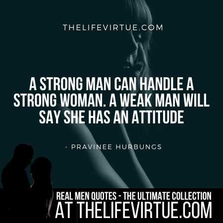 Man Quotes on Handling Woman