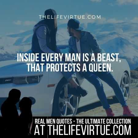 Man Quotes on Protecting Women