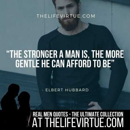 Man Quotes on Strength