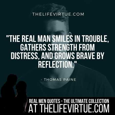 Man Quotes on Trouble