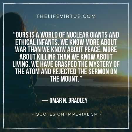 Omar n Bradley on Imperialism