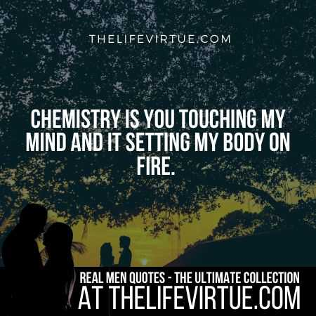 Real Man Quotes for Romance