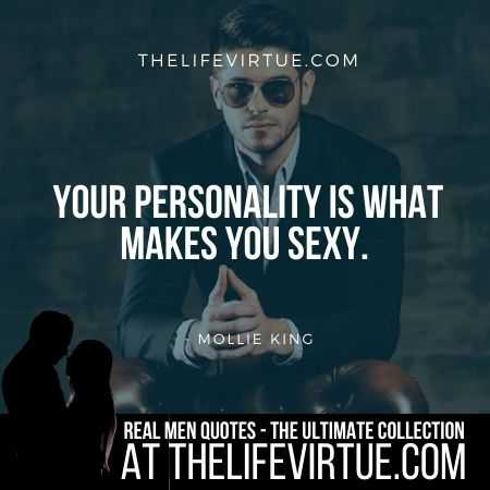 Real Man Quotes on Personality