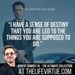 Robert Downey Jr. Quotes on Destiny